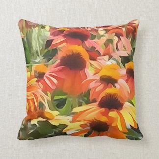 Kegel-Blume Throw-Kissen Zierkissen