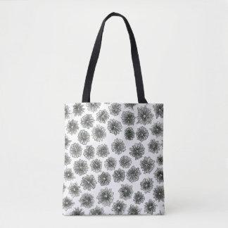 Kegel-Blumen-Muster Tasche