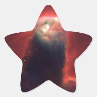 Kegel-Nebelfleck im Raum NGC 2264 Stern-Aufkleber