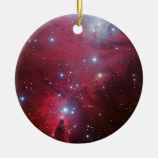 Kegel-Nebelfleck Keramik Ornament