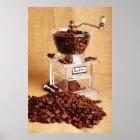 Kegelmühle Kaffeemühle Coffee mill Poster
