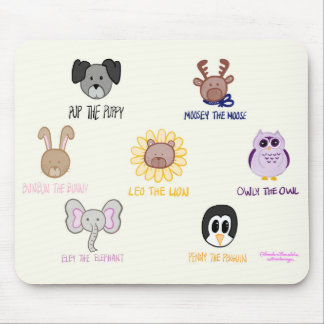 Keiki Aloha Baby Ani-Freund-imals Mousepad