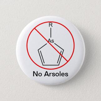 Kein Arsoles! Runder Button 5,7 Cm