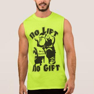 Kein Aufzug, kein Geschenk - Weihnachten - Ärmelloses Shirt