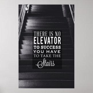 Kein Aufzug zum Erfolg Poster