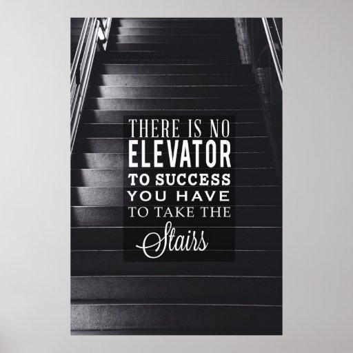 Kein Aufzug zum Erfolg Plakat