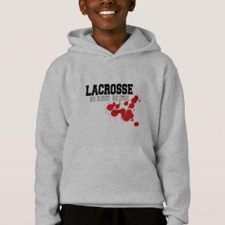 Kein Blut kein FoulLacrosse scherzt Sweatshirt