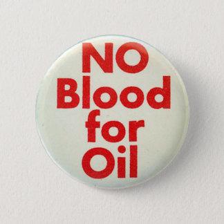 Kein Blut - Knopf Runder Button 5,7 Cm