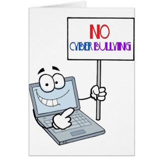 Kein Cyber-einschüchterncomputer Karte