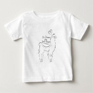 Kein Drama für dieses Lama Baby T-shirt