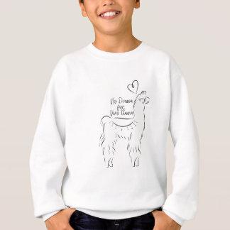 Kein Drama für dieses Lama Sweatshirt