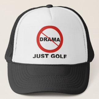 Kein Drama-gerade Golf Truckerkappe