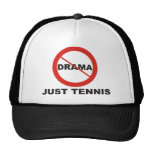 Kein Drama-gerade Tennis Baseballcap