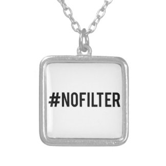Kein Filter Versilberte Kette