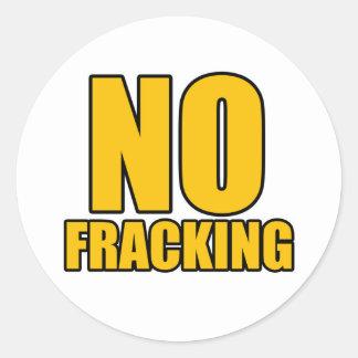 Kein Fracking Aufkleber