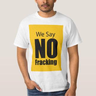 Kein Fracking T-Shirt