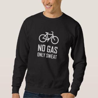 Kein Gas-Fahrrad schwitzte nur Sweatshirt