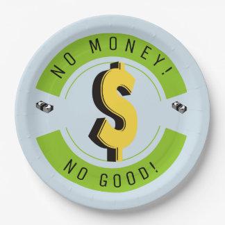 Kein Geld! Mit Problemen!!! Pappteller