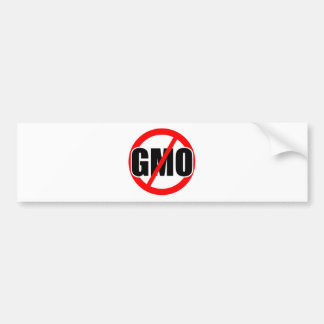 KEIN GVO - Bio/mansanto/Aktivismus/Protest/Landwir Autoaufkleber