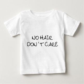 Kein Haar interessieren sich nicht Baby-Shirt Baby T-shirt