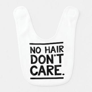 Kein Haar, interessieren sich nicht Babylätzchen