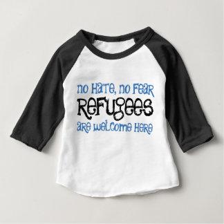Kein Hass, kein Furchtbaby/Kleinkindt-stück Baby T-shirt