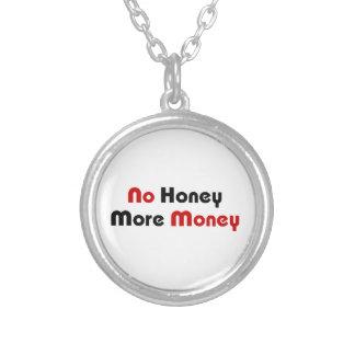 Kein Honig mehr Geld Versilberte Kette