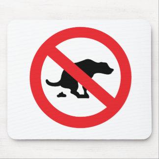 Kein Hund kacken lustiges sarkastisches des Mousepads