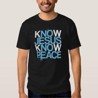 Kein Jesus, kein Frieden. Kennen Sie Jesus, kennen T-Shirts
