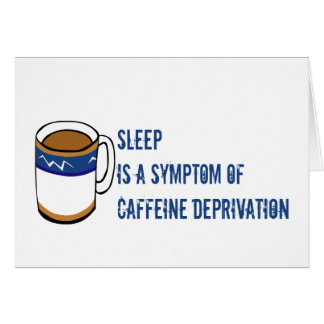 Kein Kaffee Karte