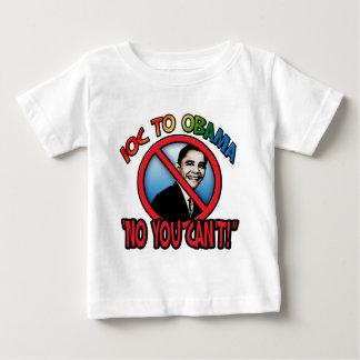 Kein können Sie nicht Baby T-shirt