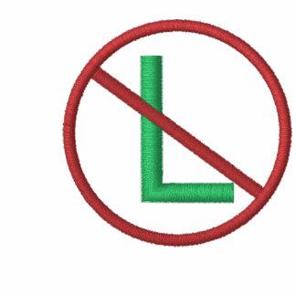 Kein L (Weihnachten) gestickt Kapuzenpulli
