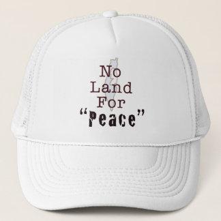 """Kein Land für """"Frieden """" Truckerkappe"""