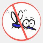 kein lustiger Cartoonentwurf des Moskitos
