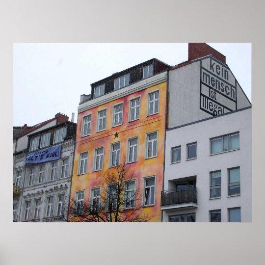 Kein Mensch ist illegal! (Hamburg) Poster