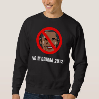 KEIN M'OBAMA 2012 langes Hülsen-Sweatshirt Sweatshirt