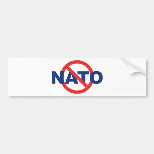 Kein NATO Auto Sticker
