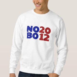 Kein Obama 2012 Sweatshirt