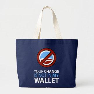 Kein Obama: Ihre Änderung ist nicht in meiner Geld Taschen
