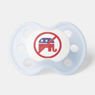 Kein Politik-Republikaner-Elefant Schnuller