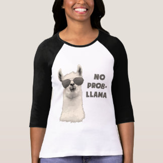 Kein Problem-Lama T-Shirt