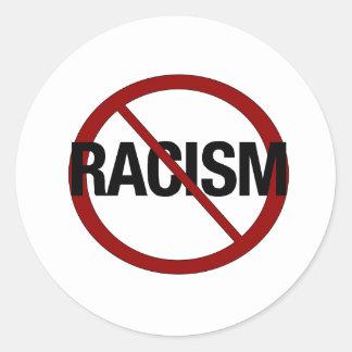 Kein Rassismus Runder Aufkleber