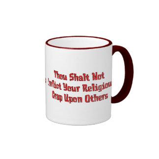 Kein religiöser Mist Kaffee Tassen