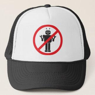 Kein Roboter-Kleid Truckerkappe