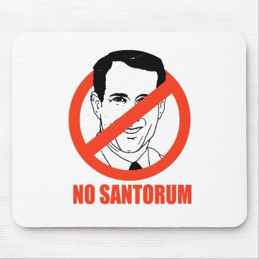 Kein Santorum Mousepads