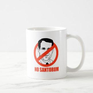Kein Santorum Tee Tasse