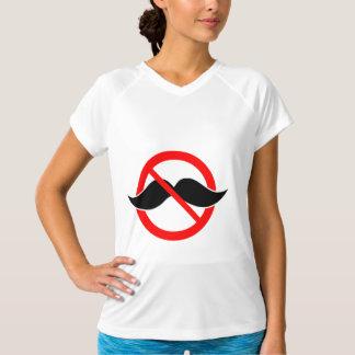 KEIN SCHNURRBART - ANTI-MUSTACHE - RASIEREN SIE T-Shirt