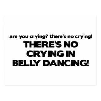 Kein Schreien - Bauch-Tanzen Postkarte