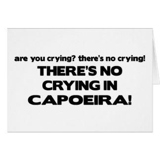 Kein Schreien - Capoeira Karte