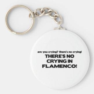 Kein Schreien - Flamenco Schlüsselanhänger